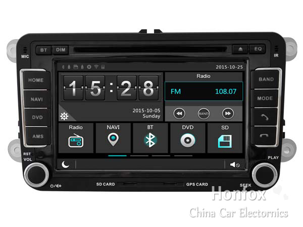 car dvd head unit for volkswagen vw jetta polo golf 5. Black Bedroom Furniture Sets. Home Design Ideas