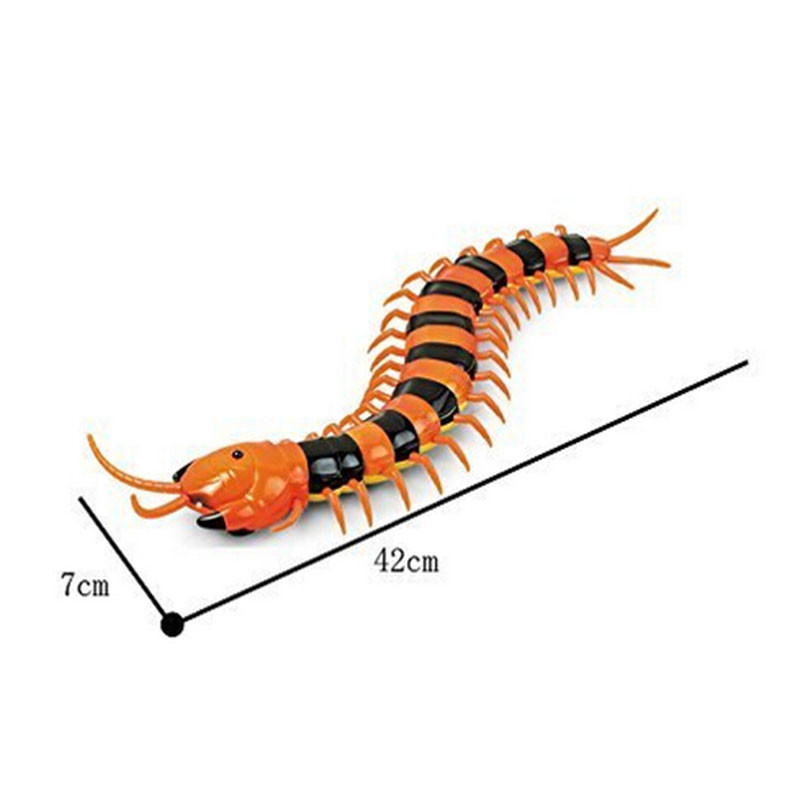 Infrared Remote Control RC toys Centipede Scolopendra Creepy-crawly Toys  with USB For Children Remote Control Centipede