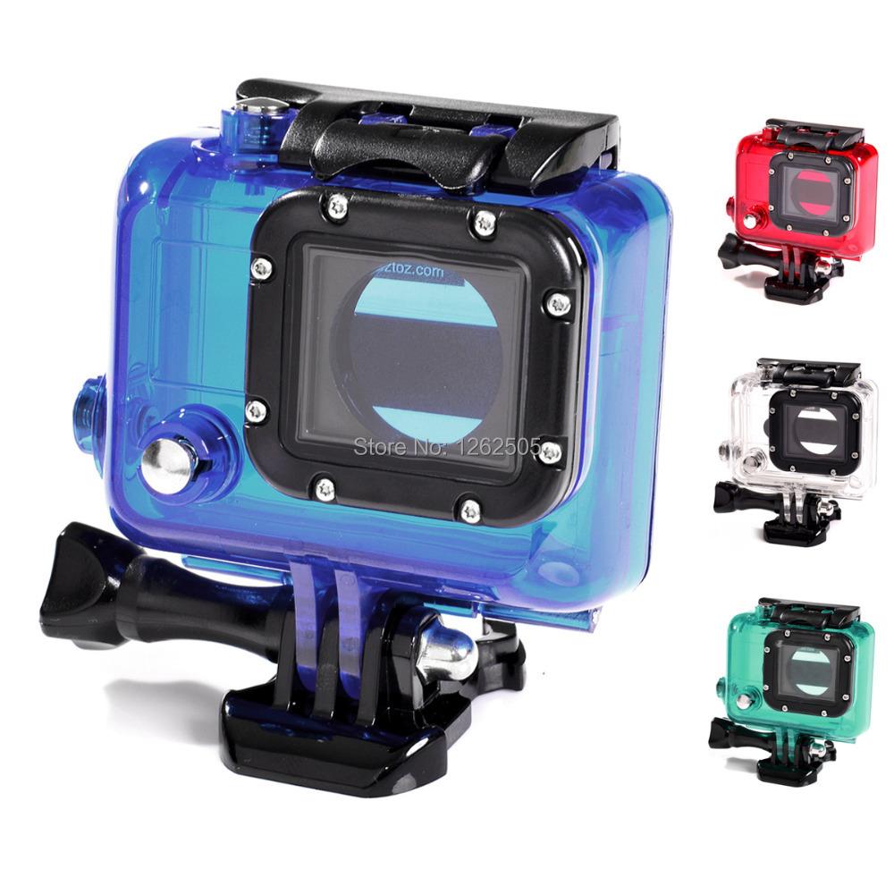 35m underwater camera waterproof housing case for gopro hd hero 3 action camera gopro. Black Bedroom Furniture Sets. Home Design Ideas