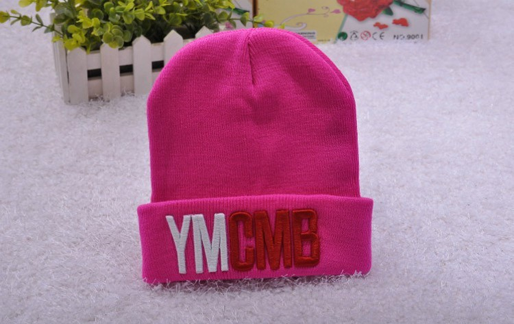19eac9bf5d9 Wholesale-Acrylic Gorras YMCMB Beanie Winter Skullies Street Hip-hop Hat Hat  Folding Hat Box Hat Sun Online with  23.87 Piece on Alleyesofus s Store ...