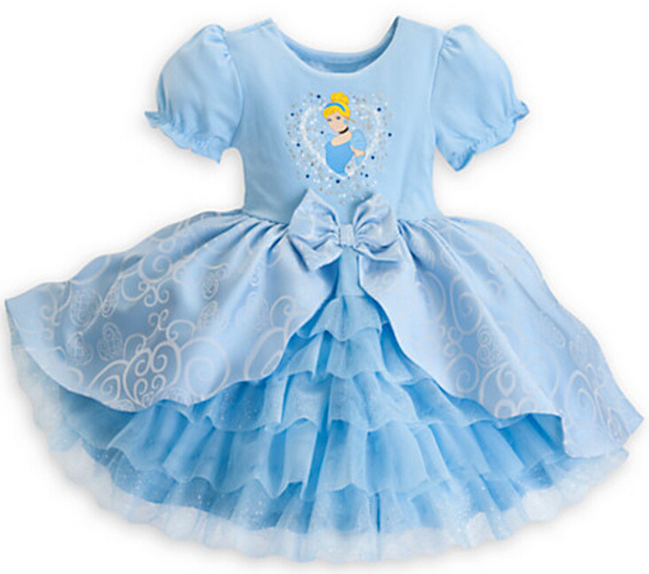 New 2015 Fantasia Baby Girls Birthday Party Blue Princess