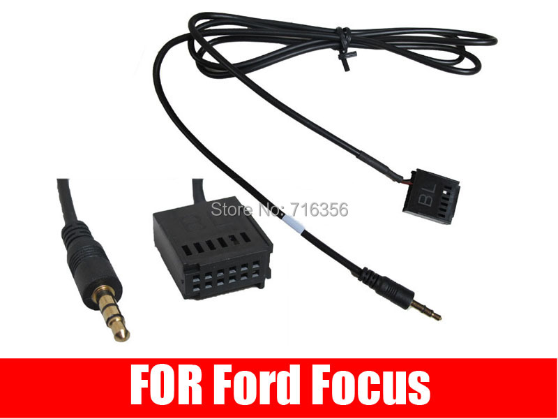 3 5mm jack aux in cable adaptor for ford focus 6000 cd. Black Bedroom Furniture Sets. Home Design Ideas