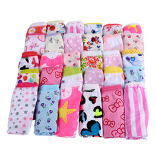 6pcs/pack 2016 Fashion New Baby Girls Underwear Cotton Panties For Girls Kids Short Briefs Children Underpants Z2