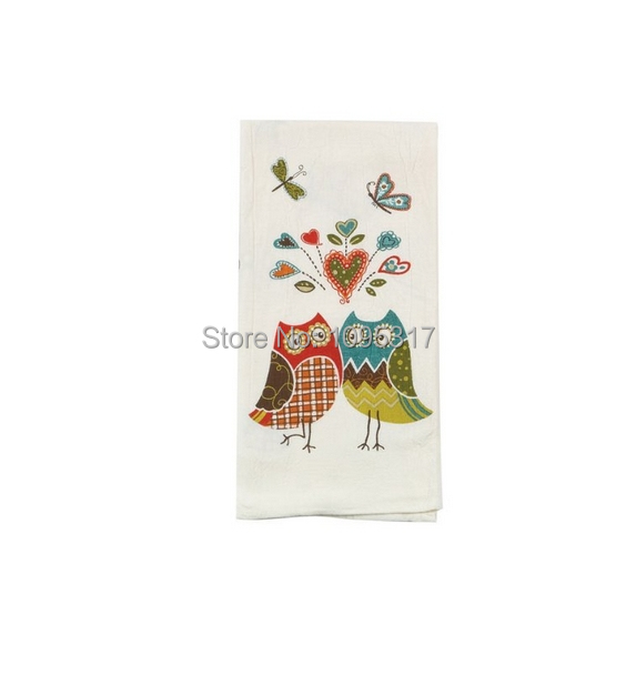 owl wonderful kitchen flour sack towel by kay dee designs in cleaning cloths from home garden. Black Bedroom Furniture Sets. Home Design Ideas
