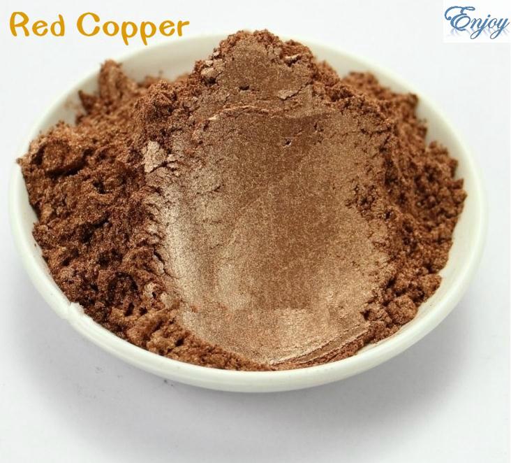 Wholesale Make up Pigment Pearl Powder Bronze Color mica pearl powder pearlescent pigment for Nail polish