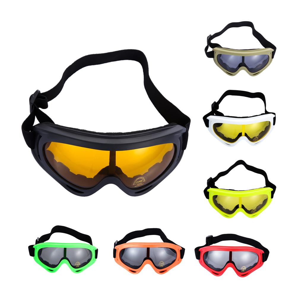6f70048124 Outdoor Skiing Snowboard Dustproof Anti-fog Glasses Motorcycle Ski ...