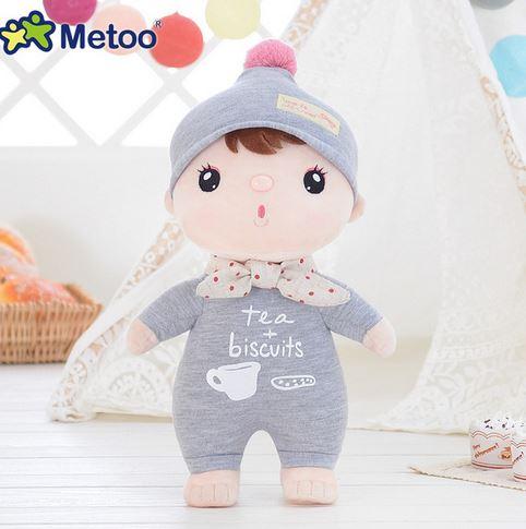 Metoo оригинальный Анжела плюшевые милые мягкие детские игрушки для девочек на день рождения Рождественский подарок лев кролик медведь панда...(Китай)