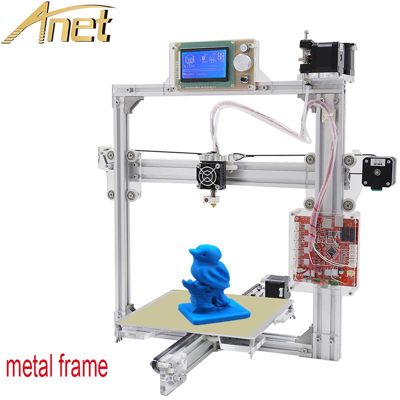 Easy Assemble Diy Metal Garage Or Shop: Auto Leveling Optional,Full Metal Frame Anet A2 3D Printer