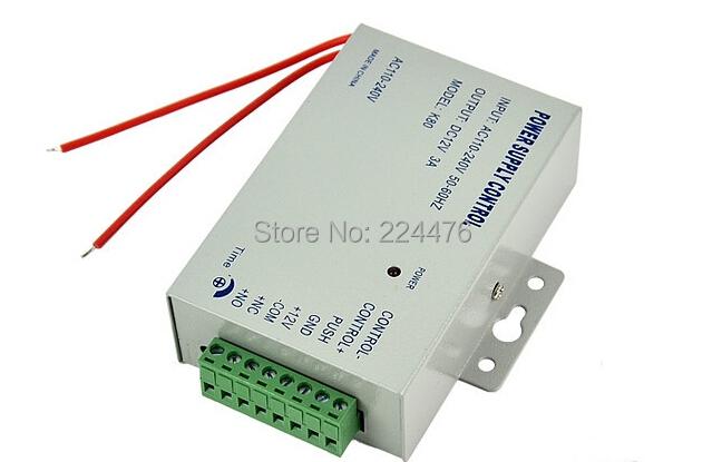 12 в постоянного тока В новый двери контроля доступа переключатель системы питания 3A / AC 110 ~ 240 В