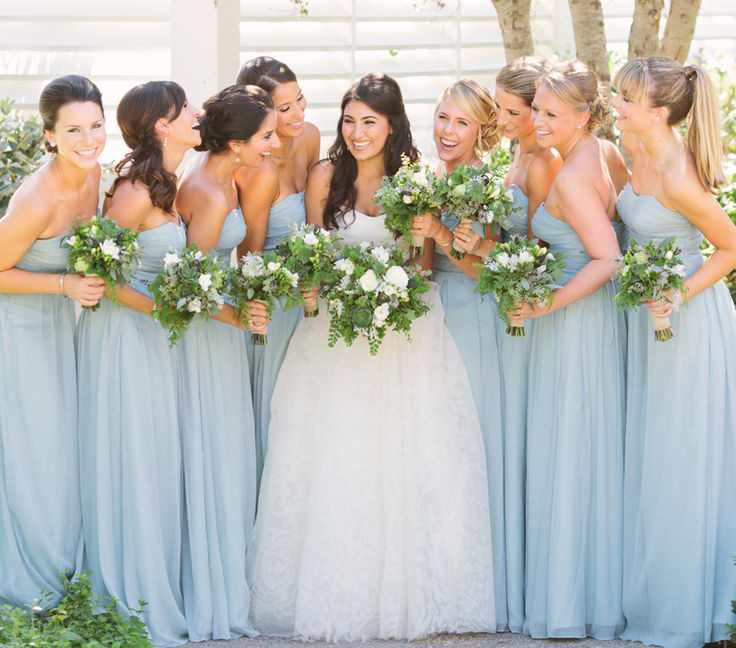 Luxury Wedding Dresses For Young Bridesmaid Color Pool