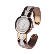 Chegada nova Rodada Meninas Das Senhoras Das mulheres relógios de Quartzo Analógico relógio de Pulso Charme Pulseira Pulseira de Relógio para As Mulheres relogio feminino