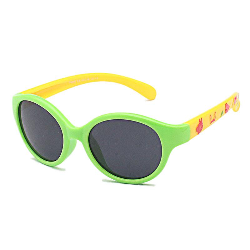 Fashion Baby Kids Children Toddler Boys Girls Polarized Sunglasses UV400 Protect Outdoor Sports Sun Glasses V200