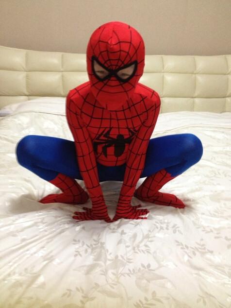 DB23580 Adult spiderman costume-6