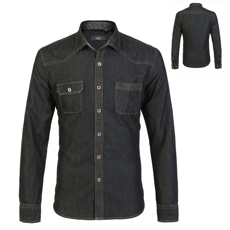 Think of a denim shirt as a neutral—you can wear it with almost anything with it. For a casual look, pair a denim shirt with printed shorts or a skirt. A denim shirt also makes a great layering piece—wear it over a T-shirt or a laidback dress as a jacket.