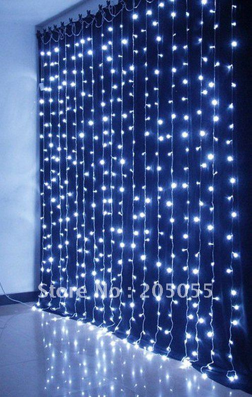 480leds Chirstmas Curtain Light Twinkle Light Lamp 3m H X