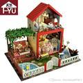 Handmade Doll House Furniture Miniatura Diy Doll Houses Miniature Dollhouse Wooden Toys For Children Birthday Gift