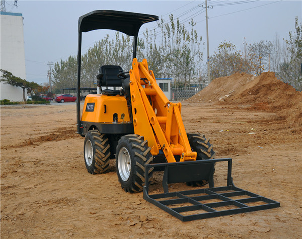 Taian Hysoon Mini Articulated Loader For Sale