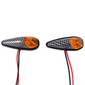 12V 3W Universal Motorcycle Scooter Bike LED Bulb Blinkers Turn Signal Indicator Lights Lamp 1 Pair