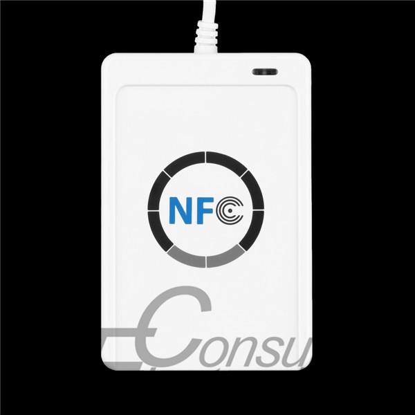 1 шт. USB ACR122U NFC rfid-тегов писатель для всех 4 типов NFC ( ISO / IEC18092 ) теги + 5 шт. M1 карты