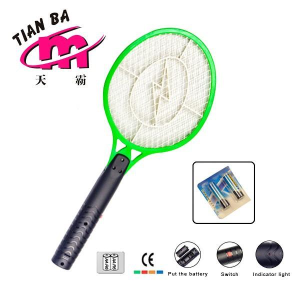 China JInhua HIPS 2AA Battery Mosquito Swatter Circuit battery ...