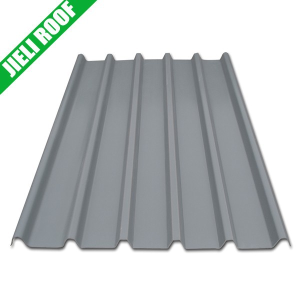 Plastic Corrugated Flat Sheet Shingles Roofing Material