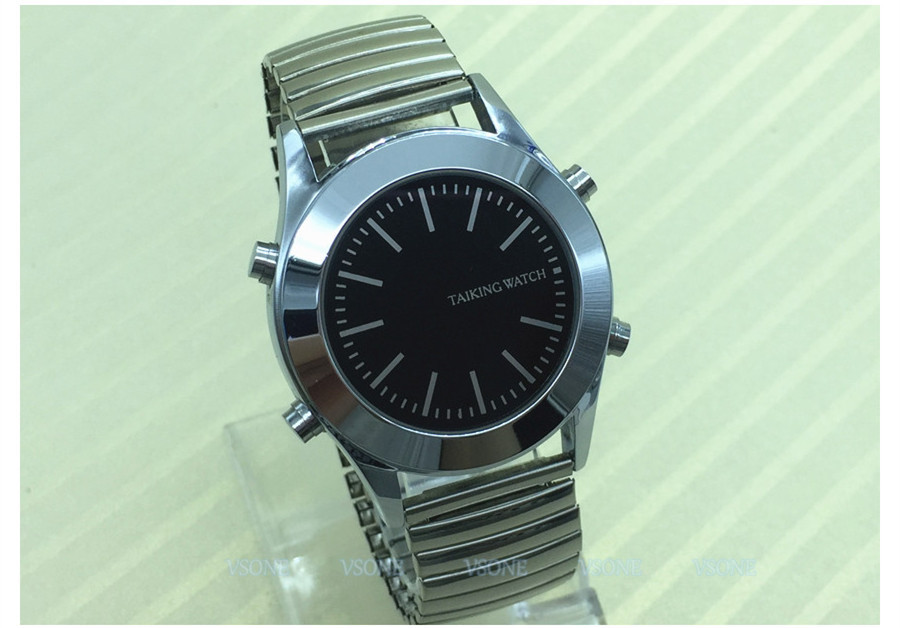 English Talking Watch for Blind or Visually Impaired with ...
