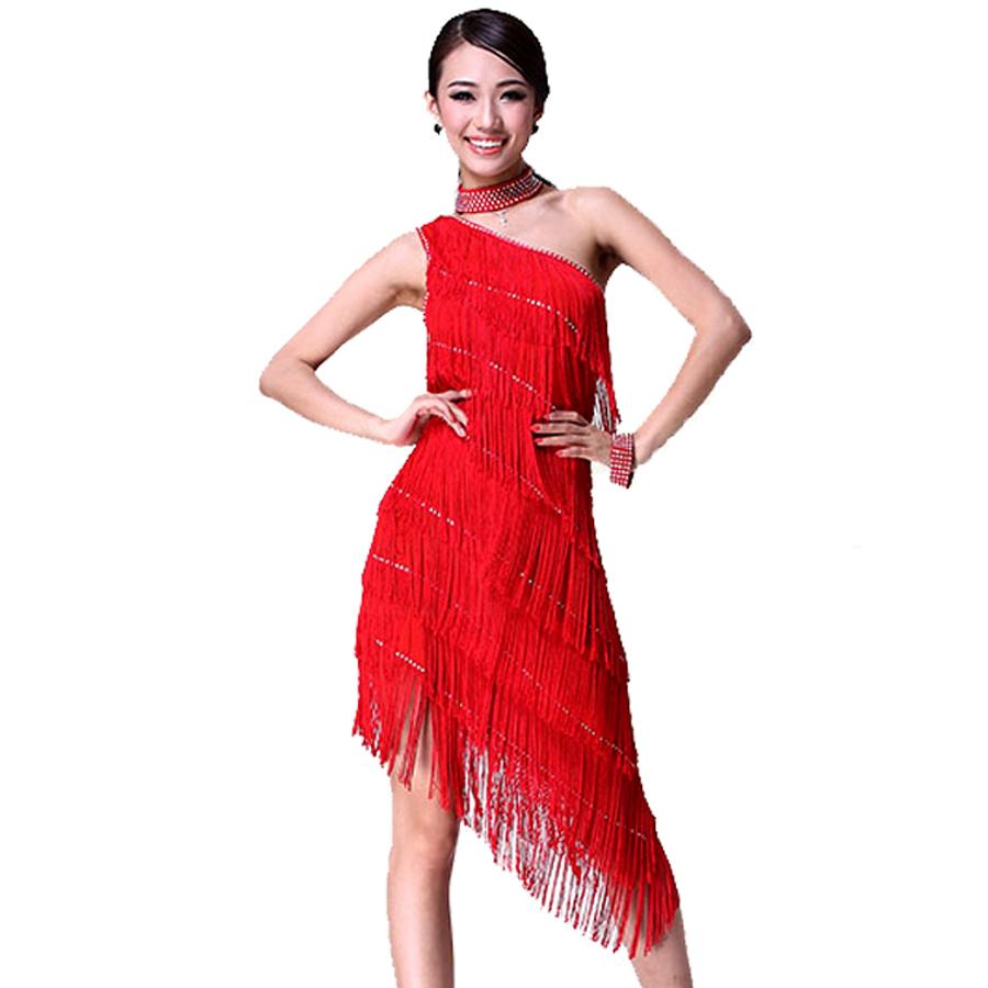 2015-New-Latin-Dance-Dresses-For-Sale-8color-Black-Fringe ...