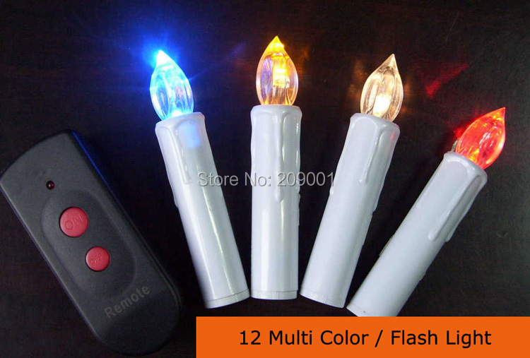 Free Shipping Remote Control Led Christmas Candle Lights