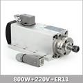 New 800W Spindle Motor Air Cooled Spindle Motor ER11 cnc Spindle Motor