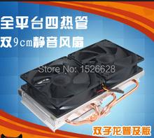 VGA Cooler,dual 90mm fan, 4 heatpipe,GTX980 970,r9 290 graphics card cooler,VGA Cooler fan,VGA fan, CoolerBoss GFH-409-02