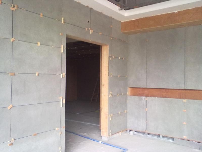 9mm Waterproof Fiber Cement Board For Bathroom Partition