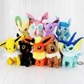 1Pcs 30cm Eevee Plush Umbreon Espeon Jolteon Vaporeon Flareon Glaceon Leafeon Sylveon Plush Toy Dolls Soft