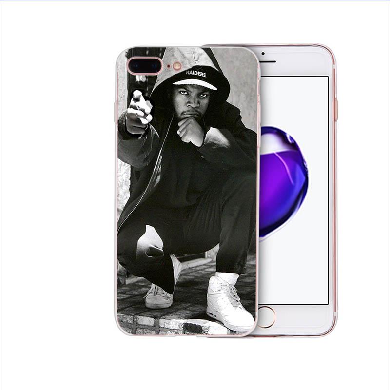 Мягкий силиконовый чехол для телефона iphone x xs xr xsmax 8 7 6s 6 plus 5S se 5 американский поп Рэппер ледяной куб TPU чехол для мобильного телефона(Китай)