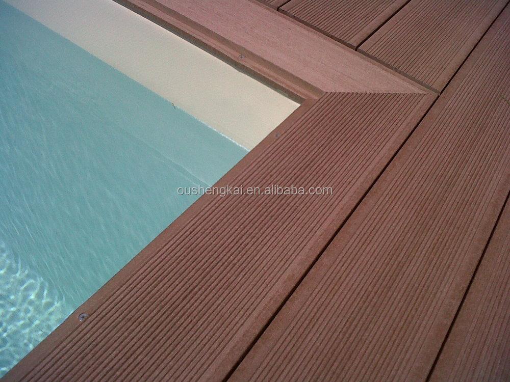 Oushengkai Durable Wood Plastic Composite Wpc Decking