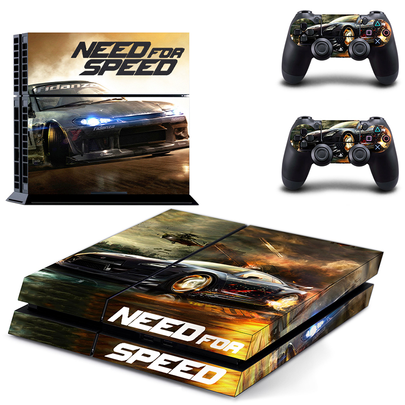 2015 ps4 accessories need for speed skin sticker for. Black Bedroom Furniture Sets. Home Design Ideas