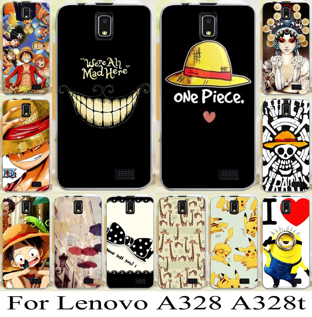 low priced cd025 b42fb lovely cute cartoon girl skin shell hood case cover For Lenovo A328 A328T  freeshipping mobile phone case hard case bag