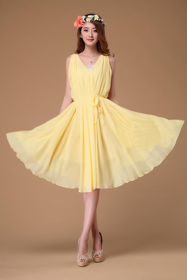 Buy yellow dress online