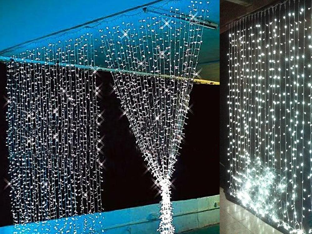 3mx3m 360led Waterfall Led String Outdoor Christmas