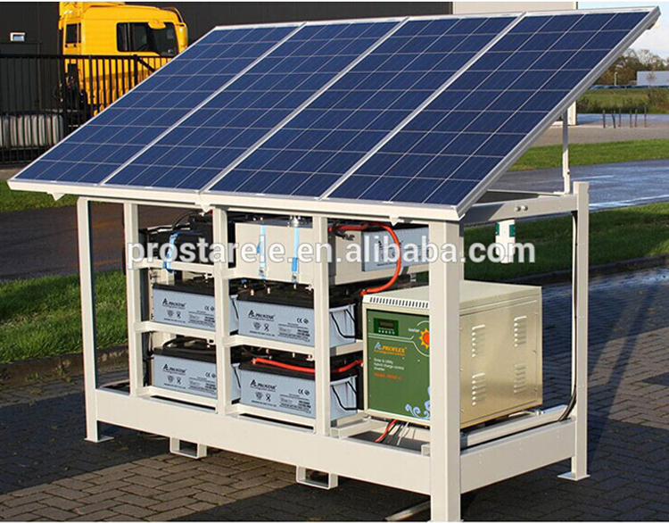 Proflex 5KW off-grid small home solar power system