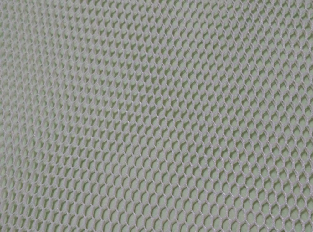 Hexagon Sandwich Polyester Air Mesh Fabric Warp Knit