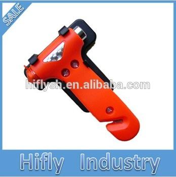 Hf-837-1car безопасности автомобиля побег безопасности молот многофункциональный аварийного молот ремня ножом ( сертификат CE )