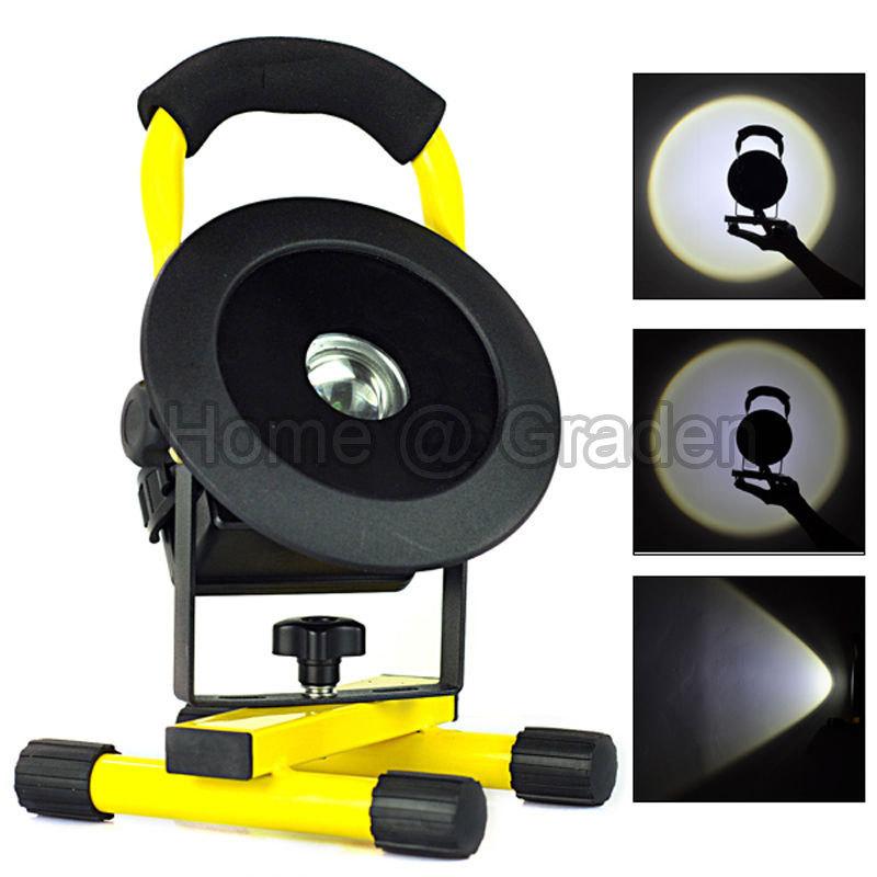 sans fil 2400lm cree xml l2 rechargeable led flood spot light lampe portative lampe de travail. Black Bedroom Furniture Sets. Home Design Ideas