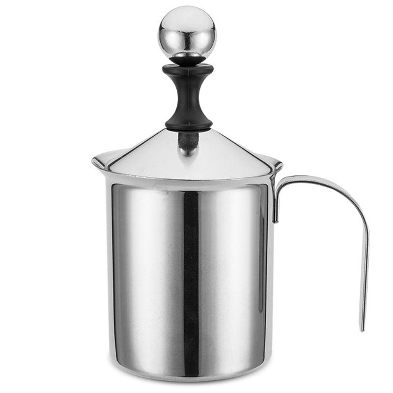 Горячая Распродажа ручной молочный Френч-пресс для приготовления кофе ручной молочный кувшин из нержавеющей стали(Китай)