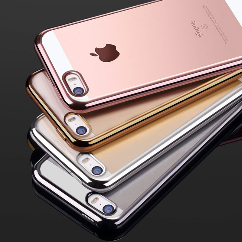 clear tpu silicone case for iphone 5 5s se phone coque fashion transparent ultra thin soft back. Black Bedroom Furniture Sets. Home Design Ideas