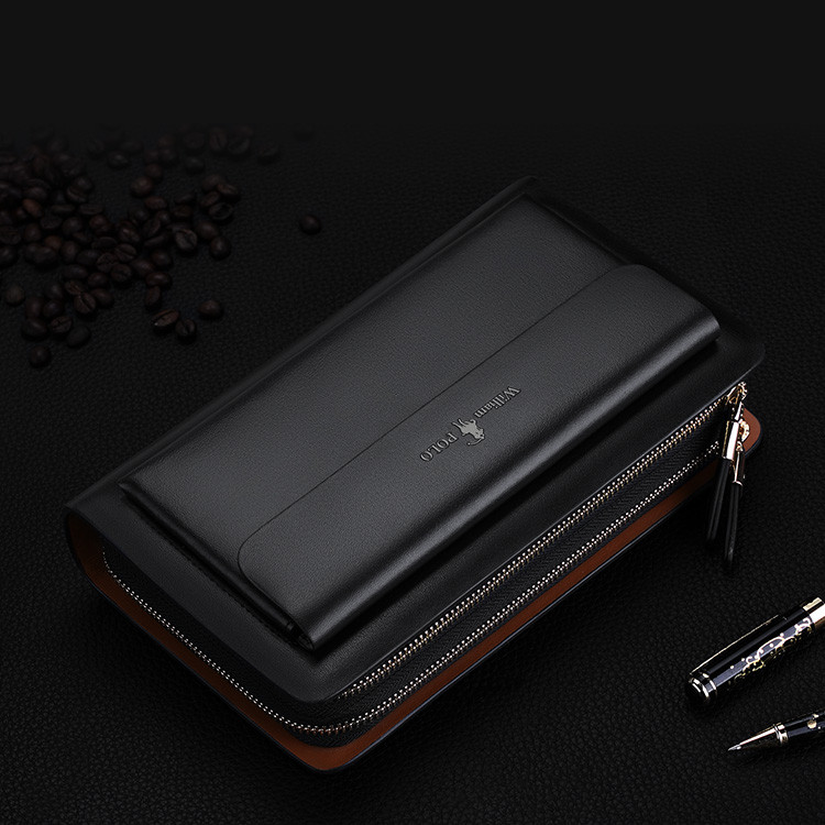 d391bef697bc9 WilliamPOLO Brand Fashion High Quality Designer Wallet Business Coin ...