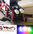 2Pcs Lot RC Night Flying 1 5W 5g Super Bright LED Head Lights for Mini Quadcopter