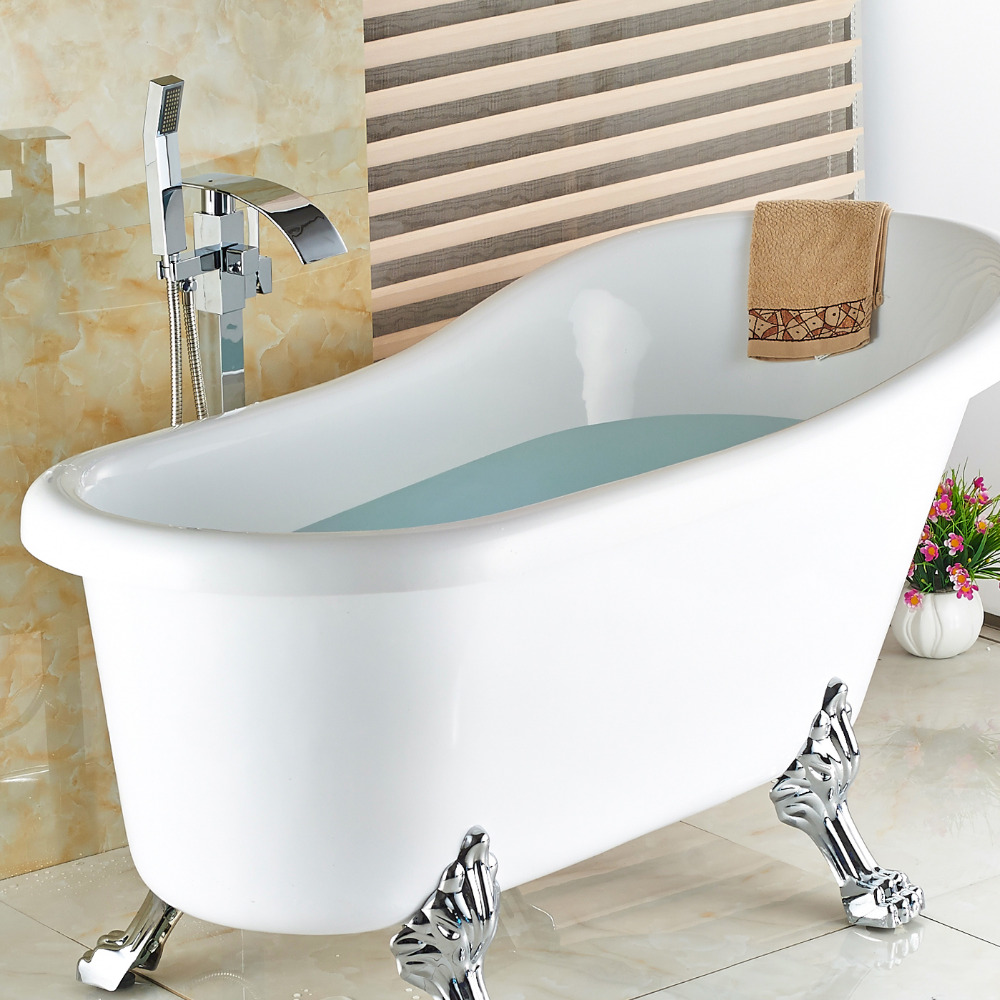 Wholesale And Retail Free Standing Bathroom Bathtub Faucet