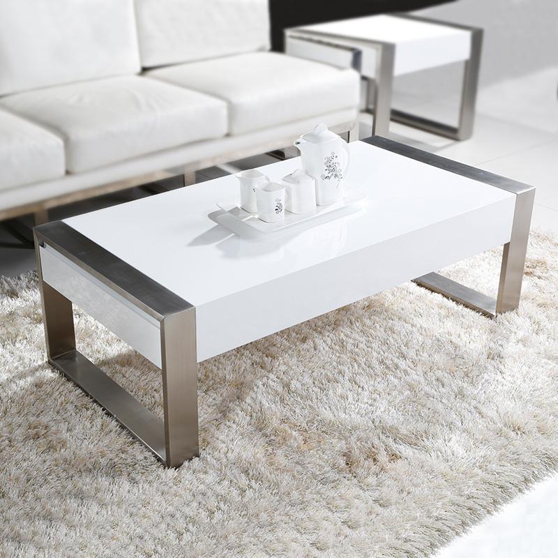 Coffee Table Minimalist Retro: Lenox Coffee Table Small Apartment Minimalist Modern