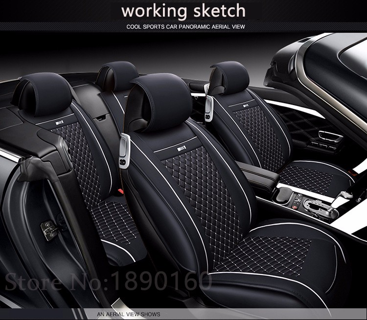 Special Leather Car Seat Covers For Dacia All Models Sandero Duster