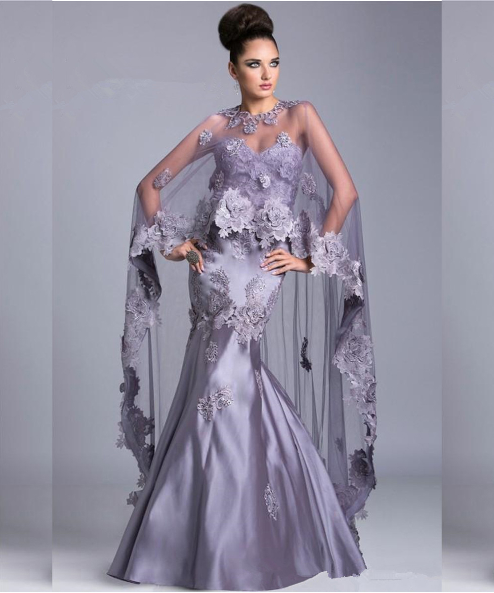 Wedding Gowns Mother Of The Bride: Vintage Style Light Purple Mermaid Mother Of The Bride